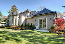 1620-Meadow-Glenview - House Rear View - Globex Developments Custom Homes
