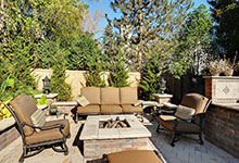 1620-Meadow-Glenview - Patio FirePit - Globex Developments Custom Homes