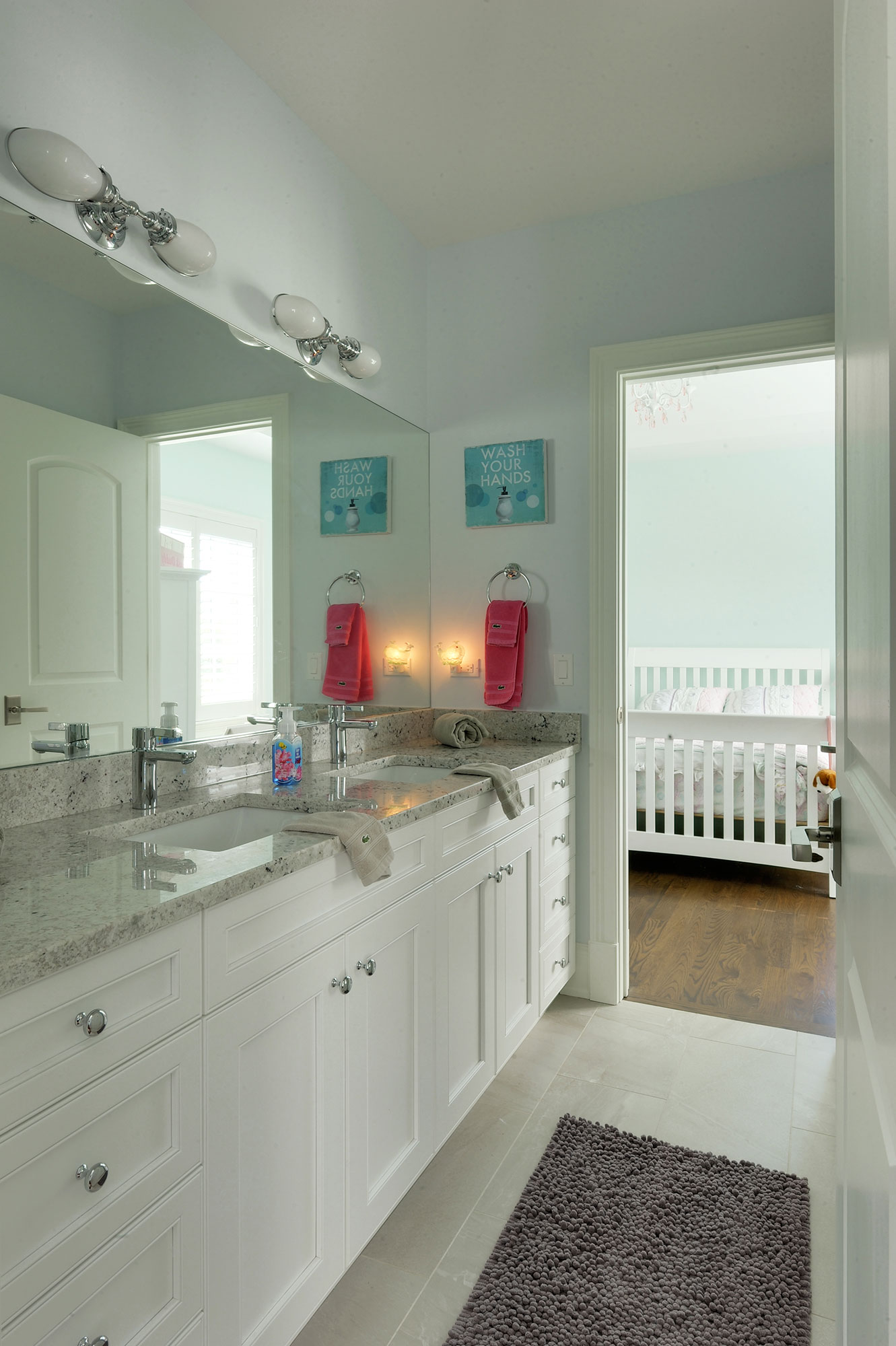 Jack Jill Bathroom New Custom Homes