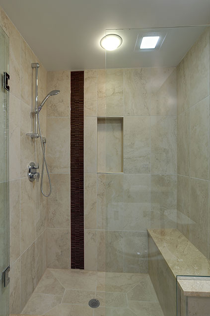 1929-Palmgren-Glenview - basement-shower - Globex Developments Custom Homes