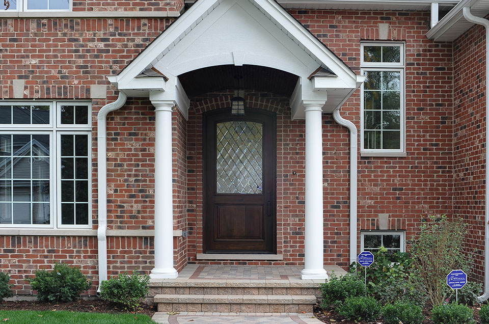 1929-Palmgren-Glenview - entry-door - Globex Developments Custom Homes