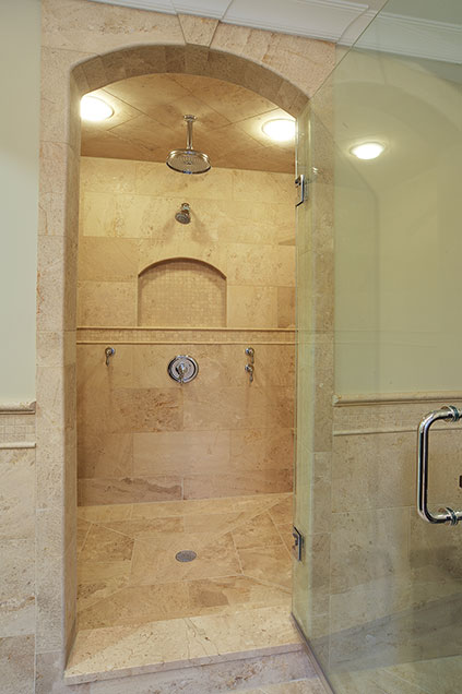 1929-Palmgren-Glenview - masterbath-shower - Globex Developments Custom Homes
