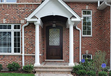 1929-Palmgren-Glenview - Entry Door - Globex Developments Custom Homes