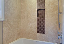 1929-Palmgren-Glenview - Guest Bath Shower - Globex Developments Custom Homes