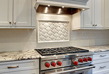 1929-Palmgren-Glenview - Kitchen Backsplash Detail - Globex Developments Custom Homes