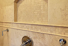 1929-Palmgren-Glenview - Masterbath Shower Tile - Globex Developments Custom Homes