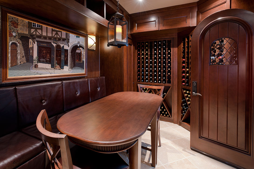 Custom Wine Cellar -  Linneman St. Glenview, Glenview Haus Photo Gallery, Chicago 26