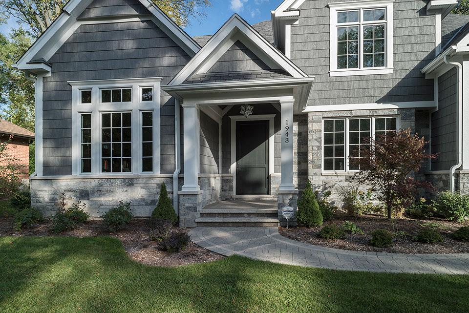 1943-Glen-Oak-Glenview - House Entrance, Front Door - Globex Developments Custom Homes