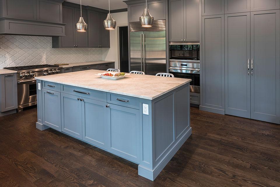 Kitchen Island Close Up new custom homes | globex developments, inc. - custom home