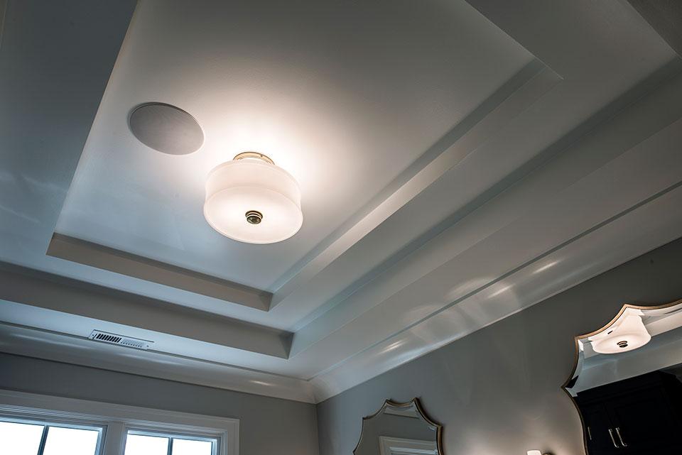 1943-Glen-Oak-Glenview - Master Bathroom Ceiling - Globex Developments Custom Homes