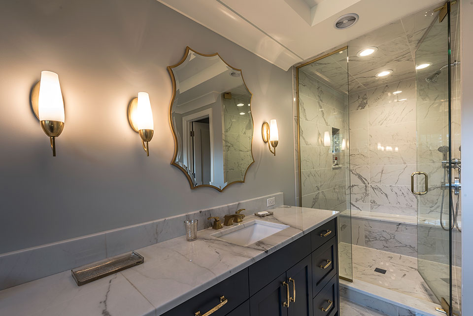 1943-Glen-Oak-Glenview - Master-Bathroom-Shower - Globex Developments Custom Homes