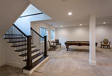 1943-Glen-Oak-Glenview - Basement, Stairs - Globex Developments Custom Homes