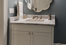 1943-Glen-Oak-Glenview - Basement Bathroom Vanity - Globex Developments Custom Homes