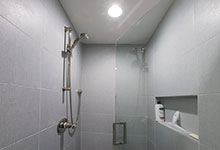 1943-Glen-Oak-Glenview - Basement Shower - Globex Developments Custom Homes