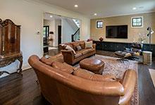 1943-Glen-Oak-Glenview - Family Room - Globex Developments Custom Homes