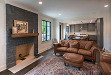 1943-Glen-Oak-Glenview - Fireplace, Family Room - Globex Developments Custom Homes