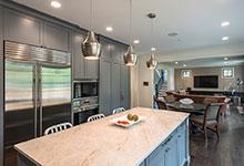 1943-Glen-Oak-Glenview - Kitchen, Refrigirator - Globex Developments Custom Homes