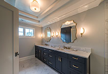 1943-Glen-Oak-Glenview - Master Bathroom Entrance - Globex Developments Custom Homes