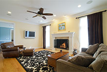 2203-Glenview - Family Room - Globex Developments Custom Homes