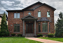 2205-Glenview - Front Elevation - Globex Developments Custom Homes