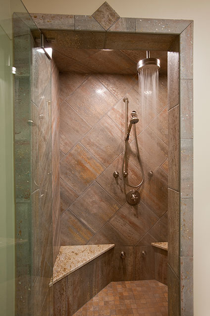 2303-Henly - Basement-Shower - Globex Developments Custom Homes