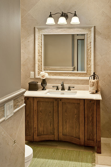 2303-Henly - PowderRoom-Vanity - Globex Developments Custom Homes