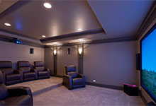 2303-Henly - Home Theater - Globex Developments Custom Homes