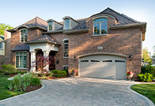 2303-Henly - 3/4 Side Elevation - Globex Developments Custom Homes
