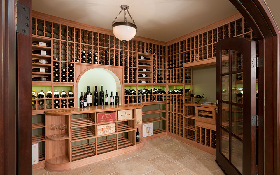 2315-Dewes-WineCellar - WineCellar - Globex Developments Custom Homes