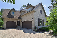 2315-Dewes - Garage View - Globex Developments Custom Homes