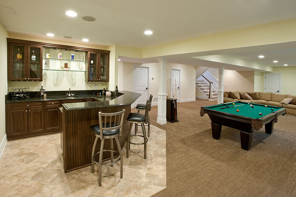 2340-Dewes - Basement - Globex Developments Custom Homes