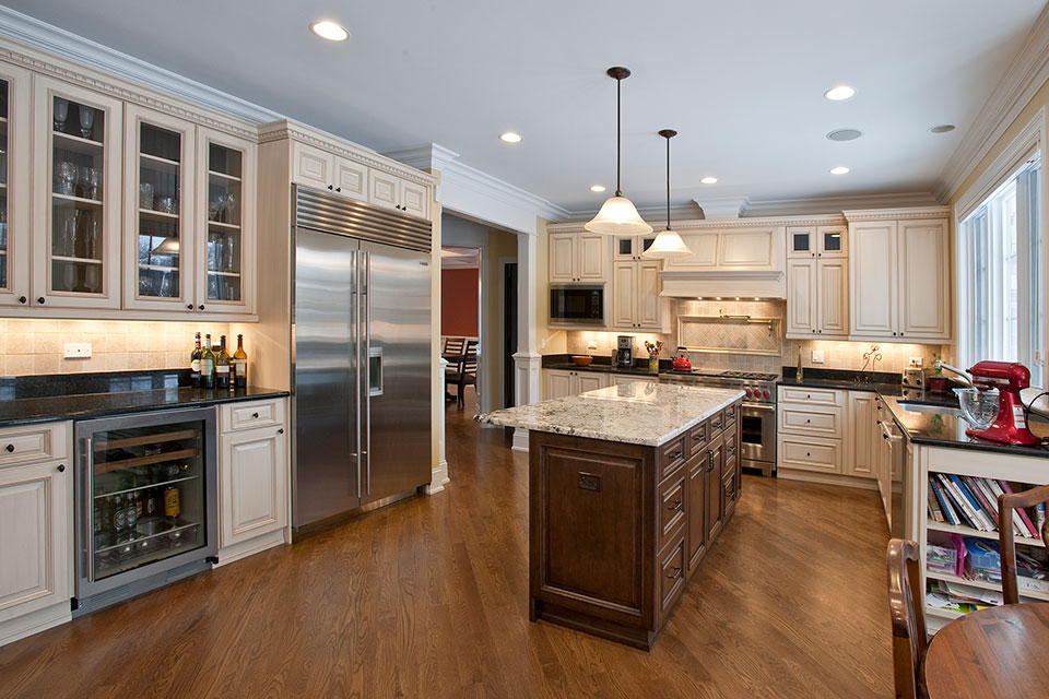 2340-Dewes - Kitchen-RefrigiratorView - Globex Developments Custom Homes
