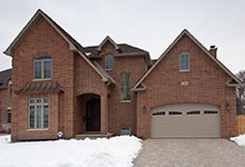 2340-Dewes - Front Elevation - Globex Developments Custom Homes