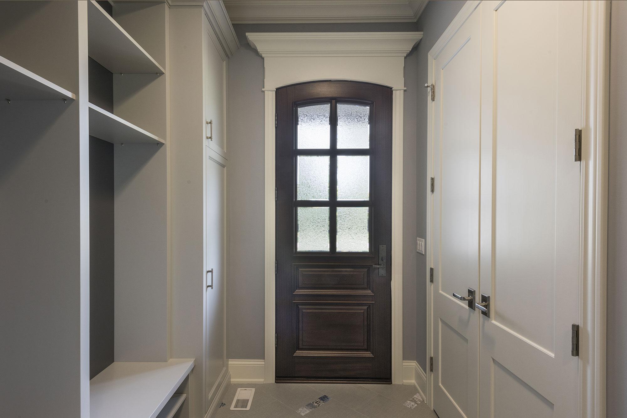 Db 652w Single Front Door Mudroom New Custom Homes Globex