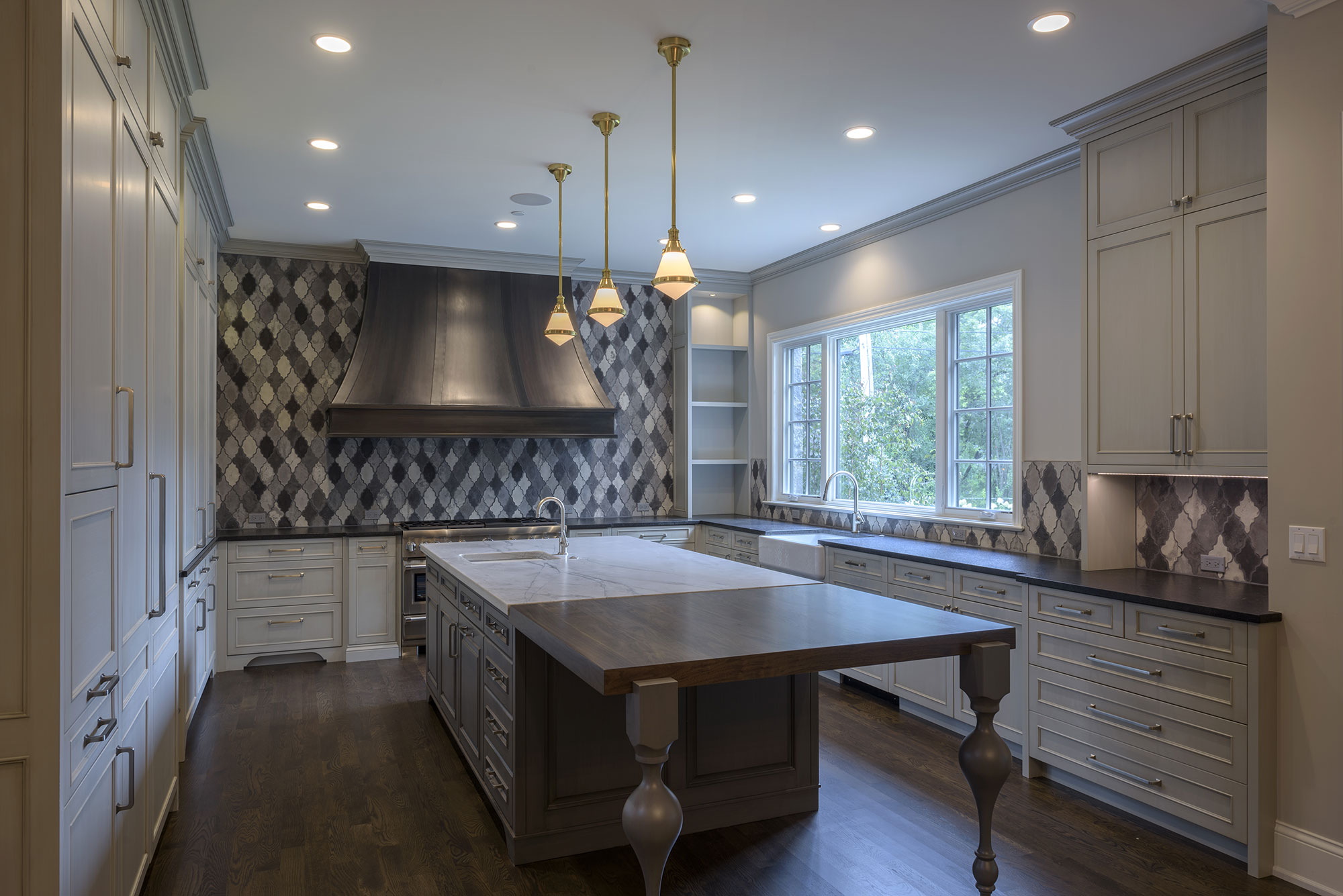 Kitchen, Transitional Style Custom Home | Glenview Haus - Custom ...
