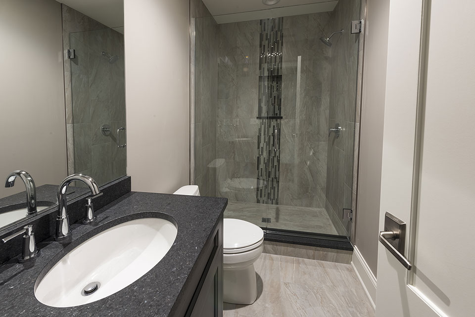 2354-Wood-Drive-Northbrook - Bathroom-Basement - Globex Developments Custom Homes