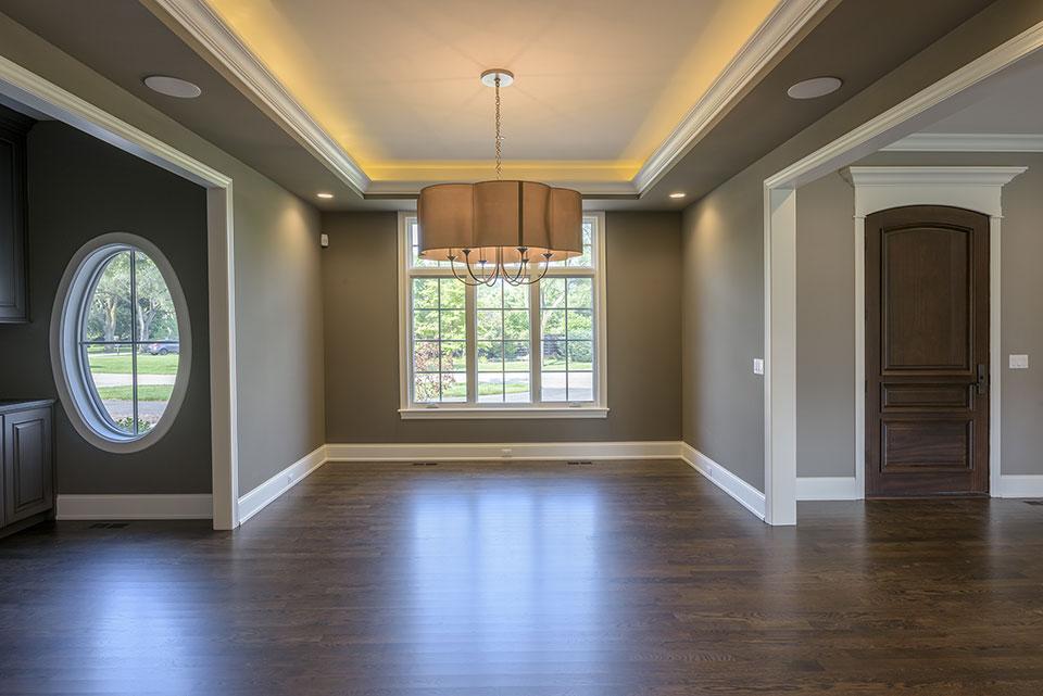 2354-Wood-Drive-Northbrook - Dining Room, Front Door - Globex Developments Custom Homes