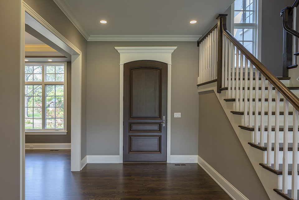 2354-Wood-Drive-Northbrook - Front-Door,-Stairs - Globex Developments Custom Homes