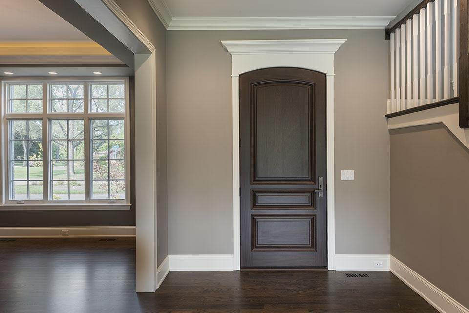 2354-Wood-Drive-Northbrook - Front Door - Globex Developments Custom Homes