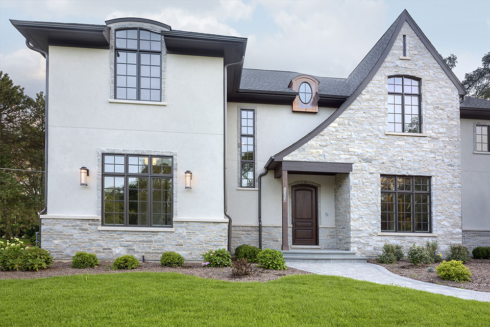 2354-Wood-Drive-Northbrook - Front-Elevations,-Entry-Door - Globex Developments Custom Homes