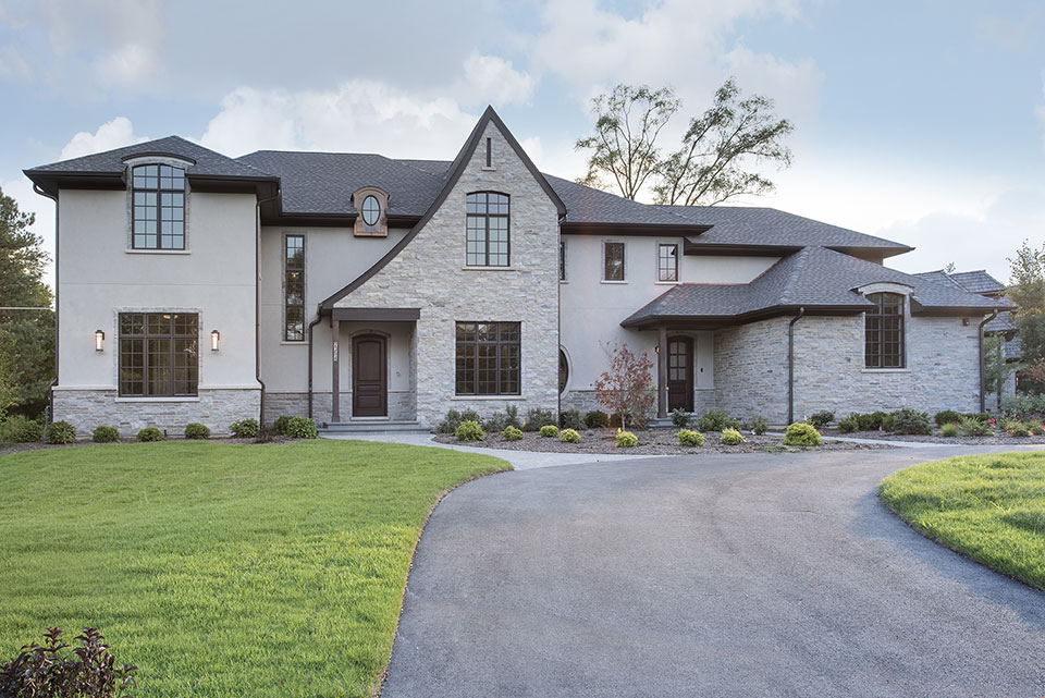 2354-Wood-Drive-Northbrook - Front-Elevations - Globex Developments Custom Homes