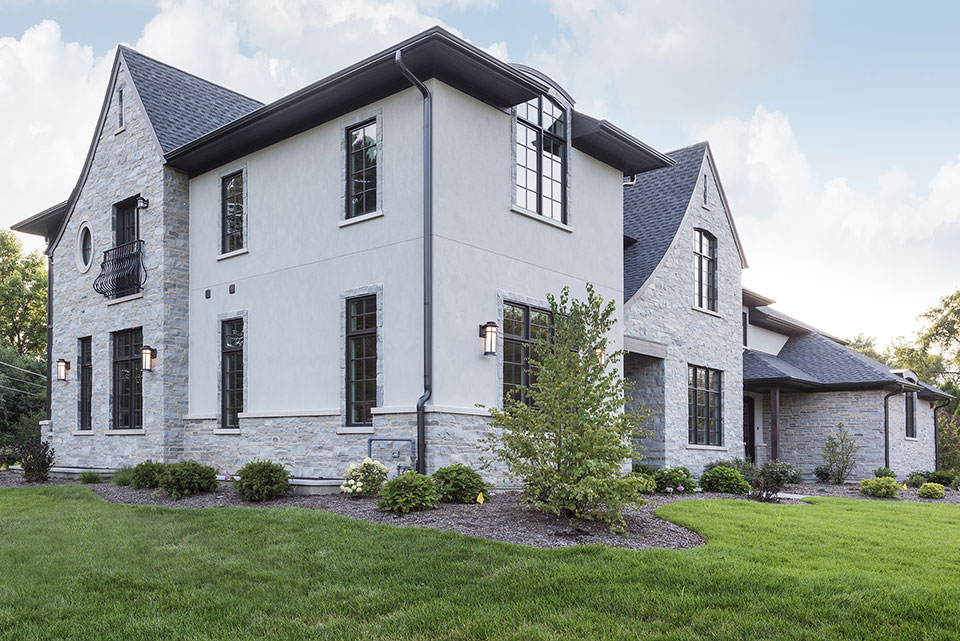 2354-Wood-Drive-Northbrook - Side-Elevations - Globex Developments Custom Homes