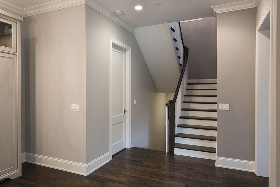 2354-Wood-Drive-Northbrook - Stairs-from-the-Kitchen-to-the-second-floor - Globex Developments Custom Homes