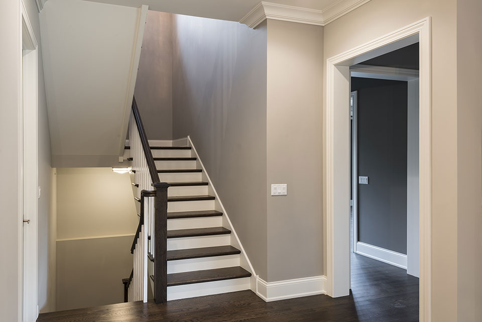 2354-Wood-Drive-Northbrook - Stairs-from-the-Kitchen - Globex Developments Custom Homes