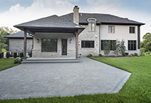 2354-Wood-Drive-Northbrook - Back Elevation - Globex Developments Custom Homes