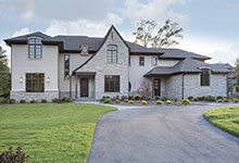 2354-Wood-Drive-Northbrook - Front Elevation - Globex Developments Custom Homes