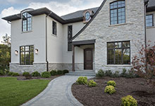 2354-Wood-Drive-Northbrook - House Entrance, Front Door, Front Elevation - Globex Developments Custom Homes