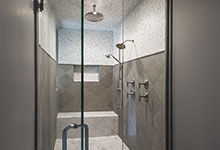 2354-Wood-Drive-Northbrook - Master Bathroom Shower - Globex Developments Custom Homes