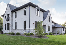 2354-Wood-Drive-Northbrook - Side Elevation - Globex Developments Custom Homes