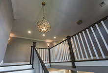 2354-Wood-Drive-Northbrook - Stairs, Second Floor, Lamp - Globex Developments Custom Homes